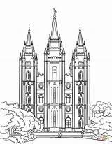 Temple Salt Lake Coloring Templo Lds Printable Colorir Ausmalbilder Clipart Supercoloring Birijus Colorare Imprimir Desenhos Jesus Tempio Nauvoo Mormon Disegni sketch template