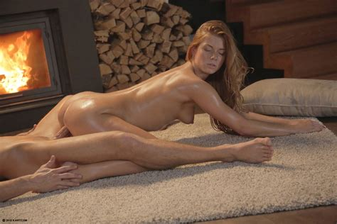 X Art Chrissy Fox Naked And Fucking In Winter Evening