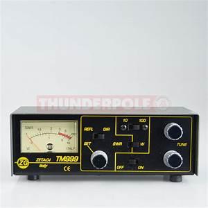 Zetagi Tm  Power    Matcher Meter