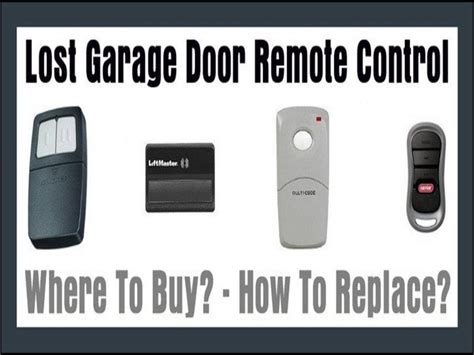 Lost Garage Door Remote by The Best Advice You Could Get About Lost Garage Door