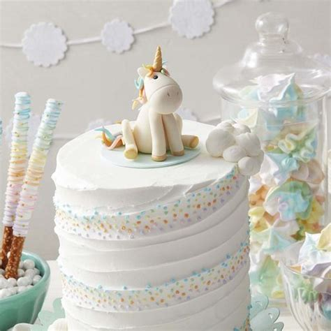 unicorn cake cakes wilton whimsical birthday baby party decorating project winter zoom instructions wlproj snowflake