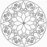 Mandala Coloring Pages Christmas Disney Print Dots Connect Holidays sketch template
