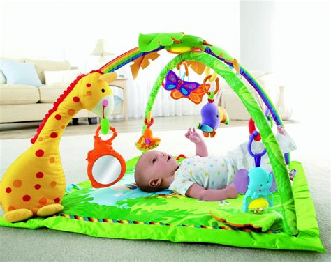 fisher price rainforest melodies and lights deluxe review