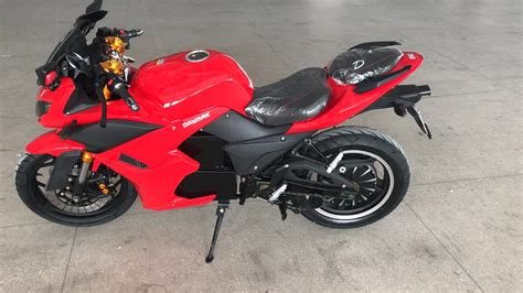 2000w China Cheap Electric Racing Motorcycle