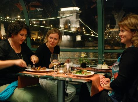 Dinner On A Boat Cruise by Budapest Cruise Dinner Budapest Dinner Cruise On The