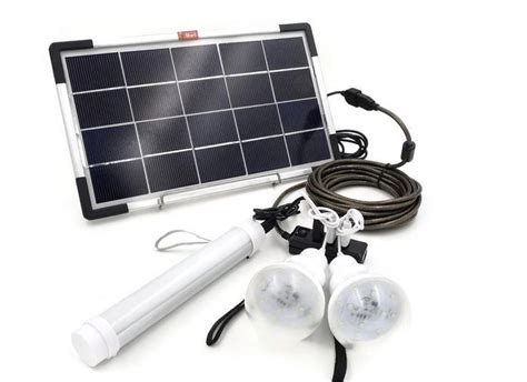 6w usb solar panel diy solar power lighting kit ebay
