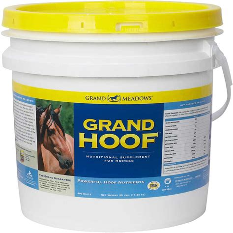 hoof supplement horses nutritional grand supplements meadows reorder alerts reminder notify promo equi
