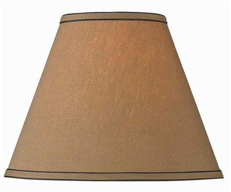 Menards Floor L Shades by 14 Quot Taupe Tapered Drum L Shade At Menards 174