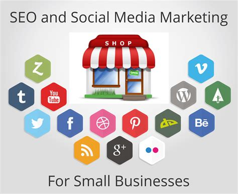 Seo Business - social media for seo small and local businesses