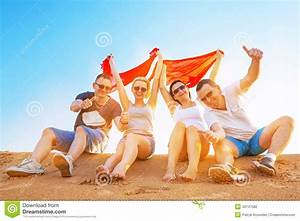 Friends On Summer Holidays Stock Photo - Image: 40147582