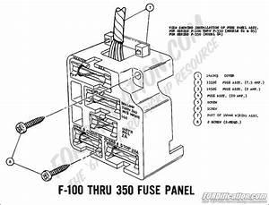 1970 Ford F100 Fuse Box