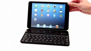 Air Ultra Light Logitech Ultrathin Keyboard For Ipad Mini Youtube