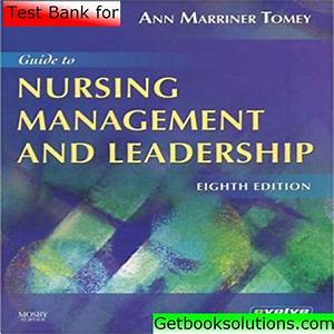 Ghim Tr U00ean Test Bank For Guide To Nursing Management And