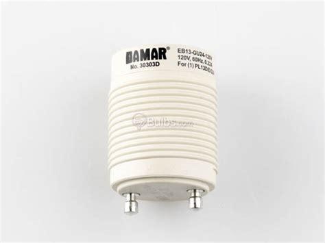 self ballasted gu24 adapter for 13 watt plug in cfl gu24