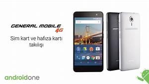 2- General Mobile 4g Sim Kart Ve Haf U0131za Kart U0131 Tak U0131l U0131 U015f U0131
