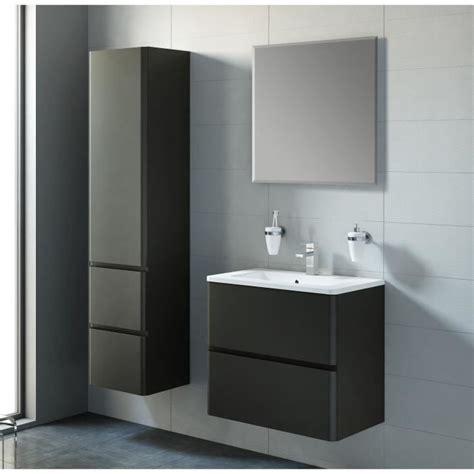 meuble de salle de bain noir laque ensemble meuble de salle de bain noir laque mat achat vente salle de bain complete ensemble
