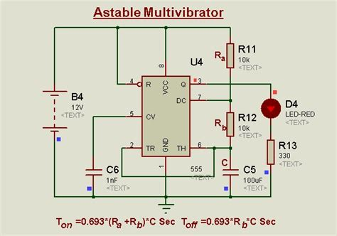 Monostable Latch Using Timer Easy Electronics