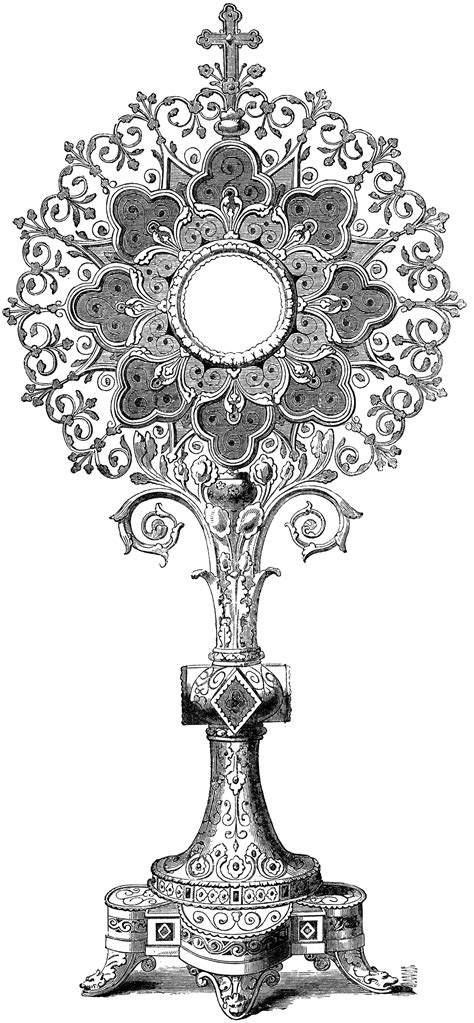 monstrance clipart