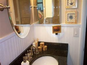 Bathroom how to install wainscoting bathroom bathrooms for Installing wainscoting in bathroom