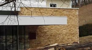 Fassadenverkleidung Steinoptik Aussen : fassadenverkleidung in steinoptik mit kunststein monaco gold ~ Orissabook.com Haus und Dekorationen