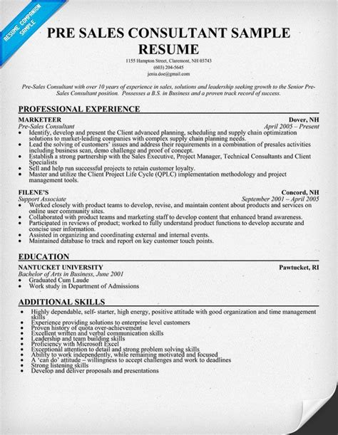 22345 sales resumes exles 11 best images about resume on sales