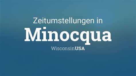 Wie werden im märz die uhren umgestellt? Zeitumstellung 2021: Sommerzeit in Minocqua, Wisconsin, USA