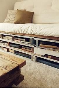 Bett Aus Holzpaletten : die besten 25 bett aus paletten ideen auf pinterest ~ Michelbontemps.com Haus und Dekorationen