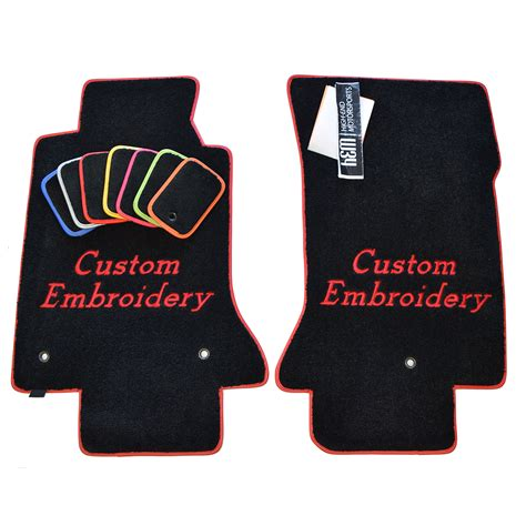 floor mats personalized chevrolet corvette c7 custom floor mats