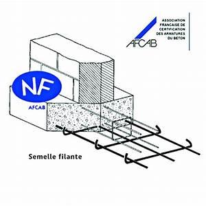 Ferraillage Fondation Mur De Cloture : semelle filante 6 m armature et ferraillage mat riau ~ Dailycaller-alerts.com Idées de Décoration