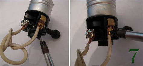 Wire A Lamp Socket by How To Rewire A Lamp Makely