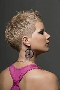 Coupe De Cheveux Femme Courte : 1001 variantes de coupe courte blonde pour rafra chir ~ Melissatoandfro.com Idées de Décoration