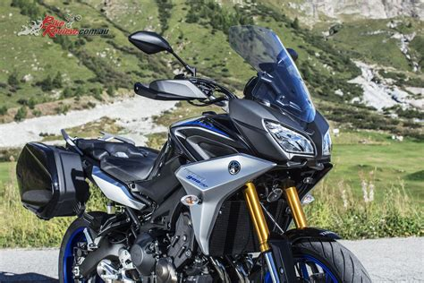 yamaha tracer 900 gt yamaha unveil new tracer gt mt 09 sp at eicma bike review