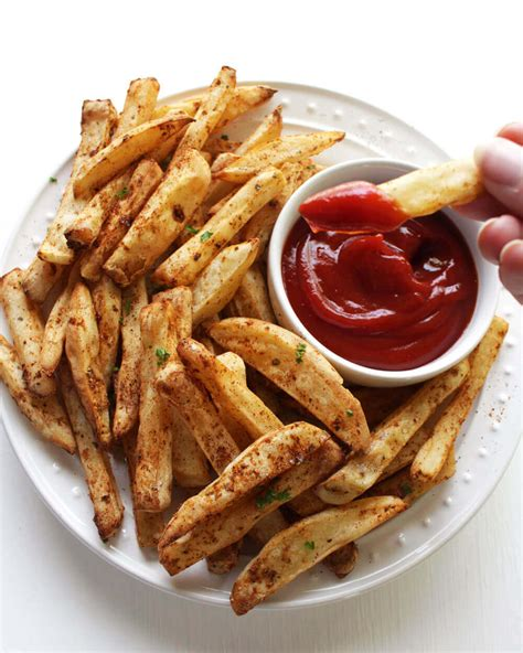 fryer air fries vegan recipes french easy oil food recipe guilt healthy snack kitchen frying super karissa juelzjohn peta