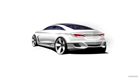 Mercedes Benz F800 Style Concept 2018 Design Sketch