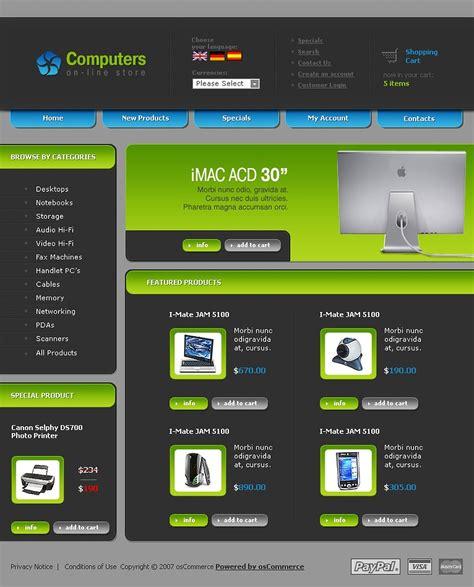 la mejor tienda template drupal plantilla oscommerce 21499 para sitio de tienda de