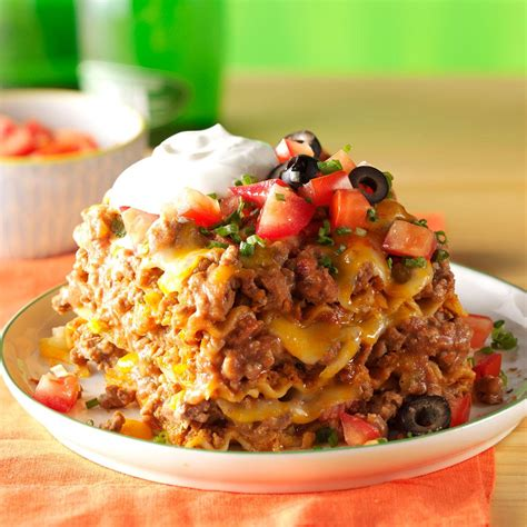 mexican lasagna recipe taste  home