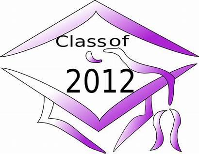 Graduation Class Cap Clip Clker Clipart