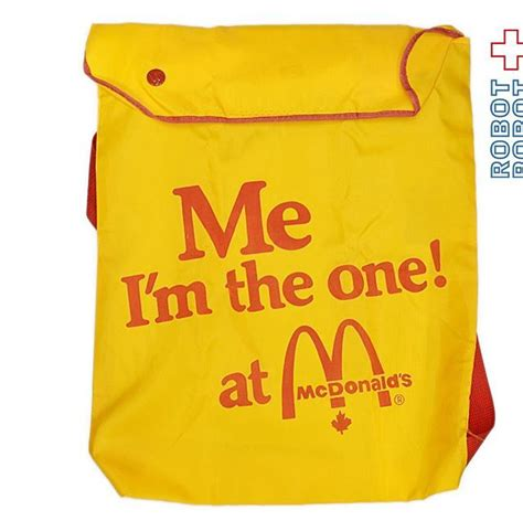I don't know which location is worse. マクドナルド Me I'm the one! at McDonald's 黄色 バッグ McDonald's Me I'm the one! at McDonald's Canada bag ...
