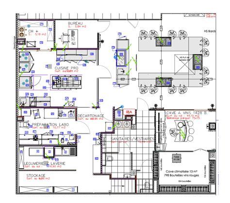 plan des cuisines plan d architecte de cuisine professionnelle maison moderne