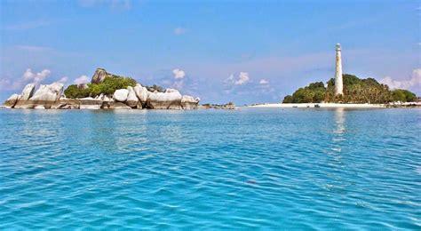 pulau belitung island tanjung pandan bangka belitung