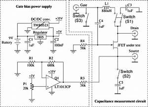 Circuit Diagram Of The Jfet C V  Measurement System