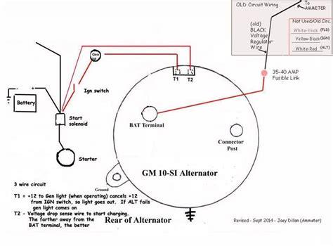 technical alternator wiring  hamb