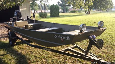 Used Aluminum Fishing Boats For Sale Craigslist by Wide Jon Boat Boats For Sale New And Used Boats