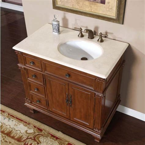 single sink bathroom vanity  offset sink