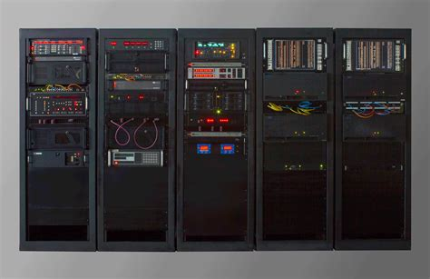 electronic equipment server racks inter video video