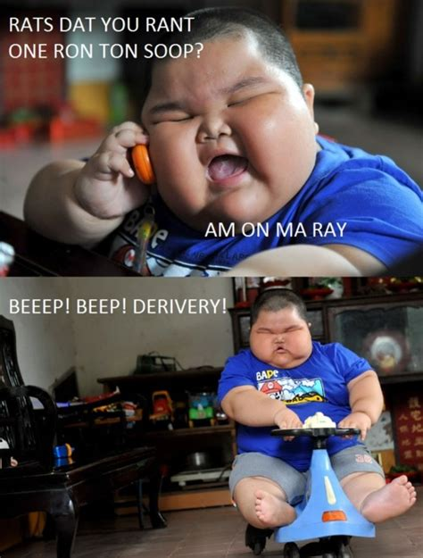 Fat Kid On Phone Meme - redhotpogo fat chinese kid meme 5