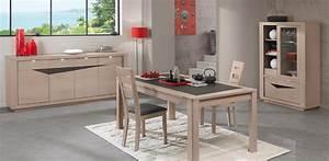 salle a manger contemporaine macao bois deco With salle À manger contemporaine avec fabricant de meuble