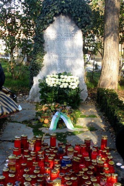 jochen rindt grabmal zentralfriedhof graz sagenat