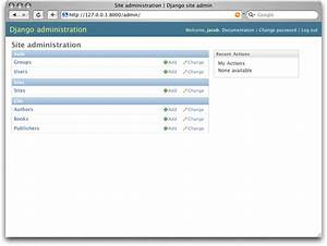 Python Django Admin Page Doesn39t Show Tables Of Database