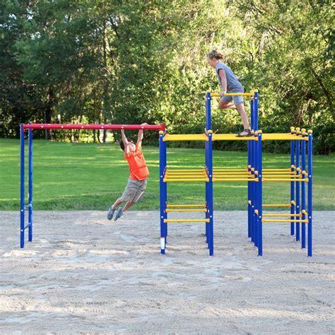 Skywalker Sports Modular Jungle Gym Monkey Bars   Swing